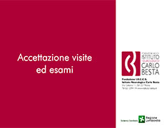 Digital Signage per la</BR>Fondazione Carlo Besta
