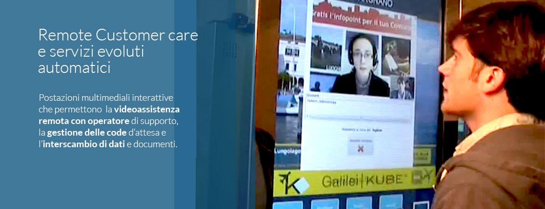 Remote Customer care e servizi evoluti automatici