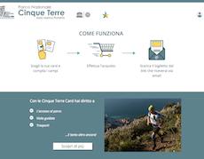 (Italiano) Sistema di Ticketing 4.0 per il Parco Nazionale delle Cinque Terre